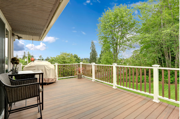 Brand New Deck in Coralville IA