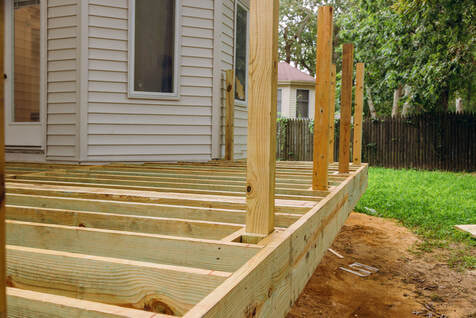 New Deck Construction in Coralville IA