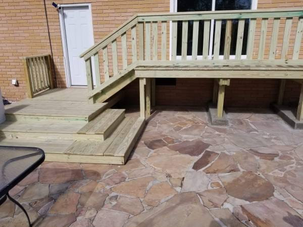 Deck Replacement in Tiffin, IA